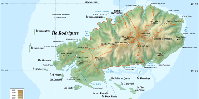 Rodrigues Geography & Climate