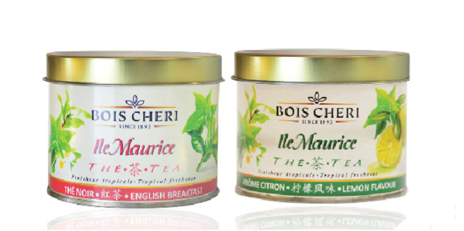 Tin Metal Tea of Bois Cheri
