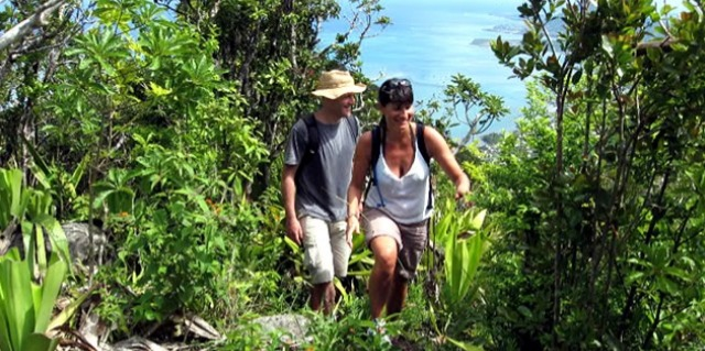 Trekking at Ile Rodrigues