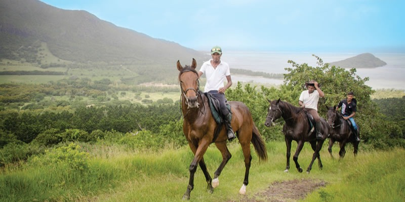 Horse Riding at Le Morne Forest