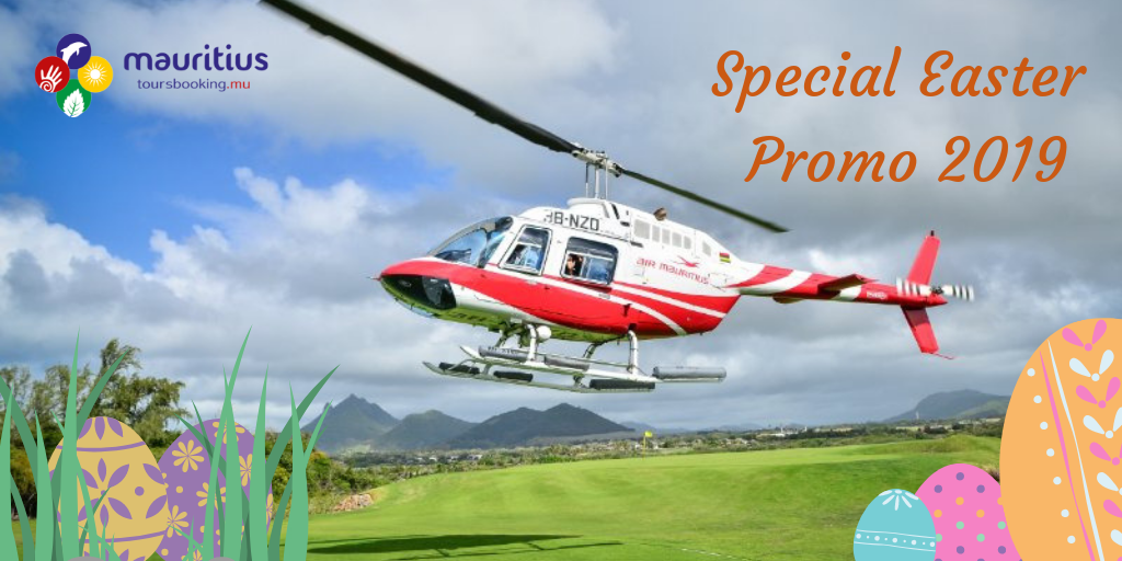 Special Easter Promo 2019-Helicopter Sightseeing Tour