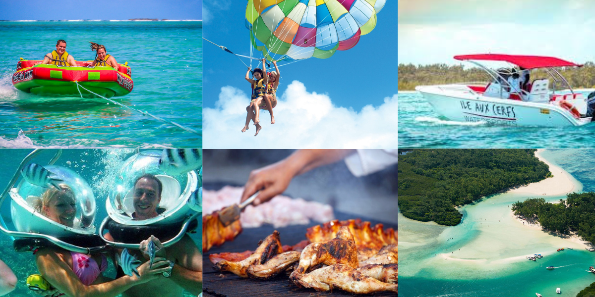 Watersports Packages +BBQ Lunch at Ile Aux Cerfs