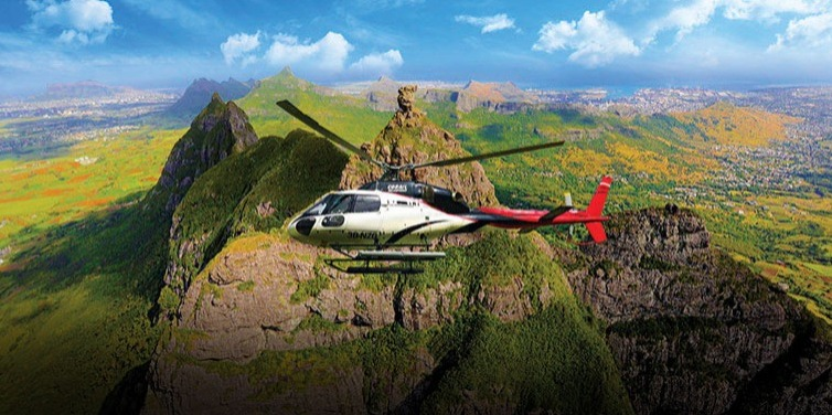 Corail Helicopter Sightseeing Tour-From Varangue sur Morne