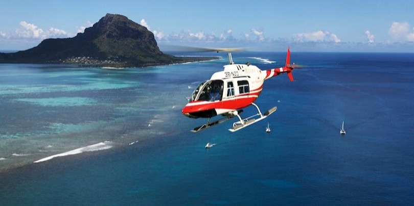 Mauritius Helicopter Special Offer MUR 1,250/  MUR 3,500