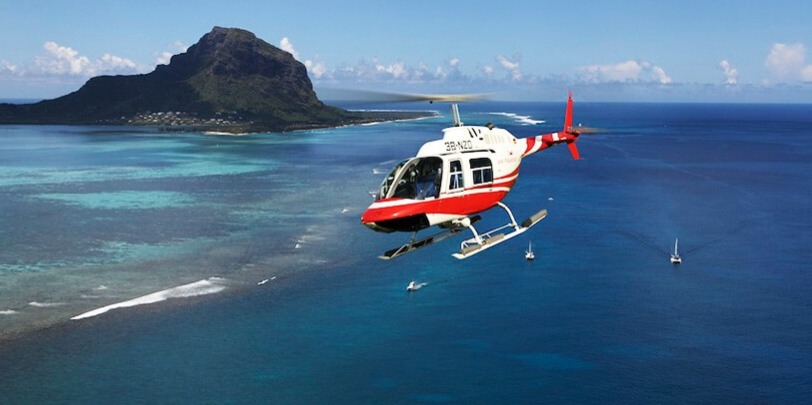 Air Mauritius Helicopter Sightseeing tour