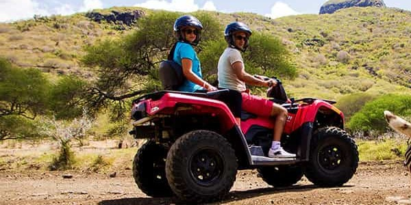 Safari Quad Biking at Casela
