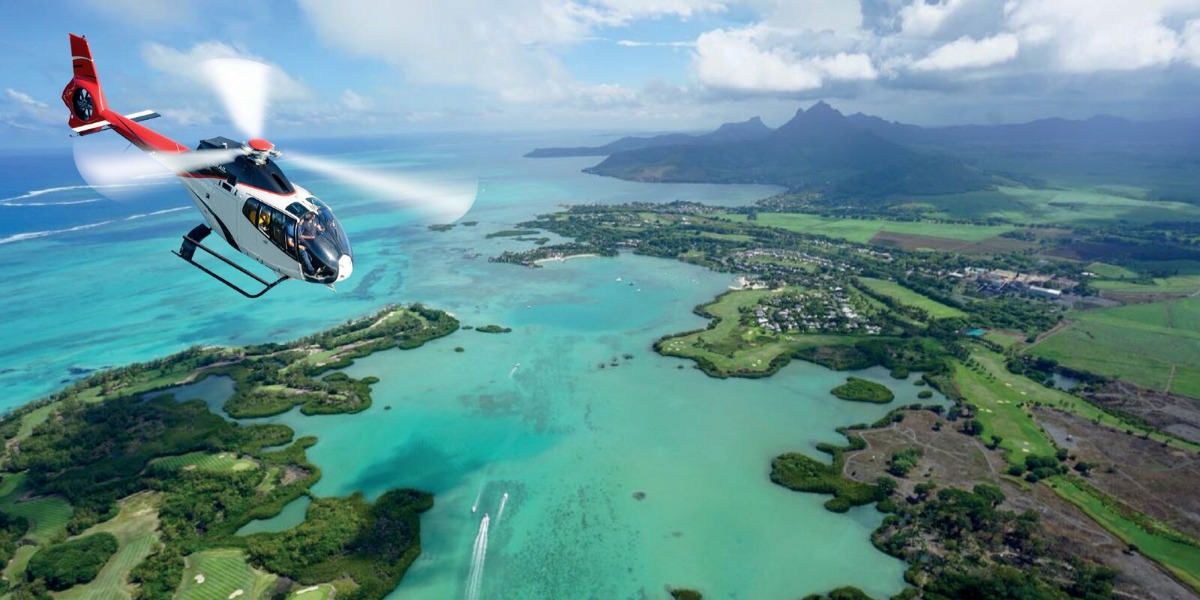 Corail Helicopter Sightseeing tour