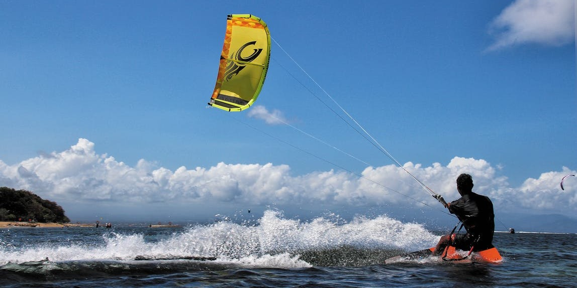 Kitesurfing Le Morne Lesson