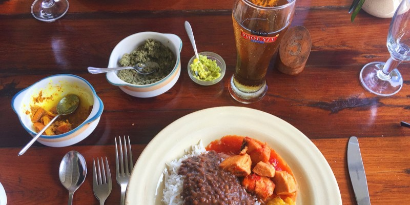 Traditional Mauritian food