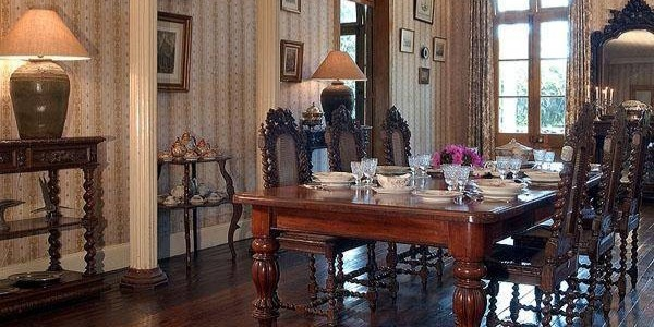 Dining room of Eureka House