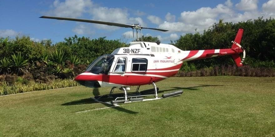Book your transfer by helicopter
